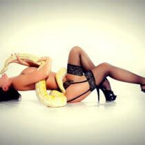 Stripteaseuse Saint-Malo 35 Bamby